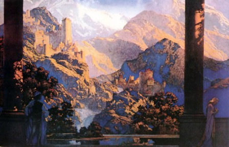 Maxfield-Parrish-Romance