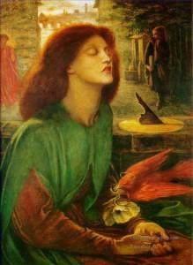 5-Beata-Beatrix-Pre-Raphaelite-Brotherhood-Dante-Gabriel-Rossetti