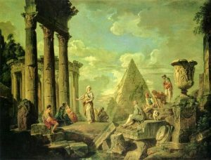 Giovanni_Paolo_Pannini_-_Sibyl_and_the_ruins_of_Rome_end,_1750