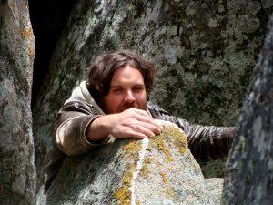 Megalith Alex Climbing Ap;ril 2 julie